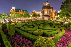 Disney Parks After Dark: France Pavilion at Epcot