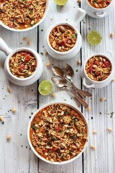 Thai Peanut Chicken and Ramen Noodle Soup | http://halfbakedharvest.com