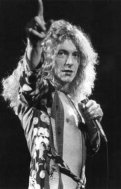 Robert Plant Mon Idole en tant que chanteur de Groupes