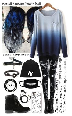 """""""Untitled #121"""" by kitty-cat-kate ❤ liked on Polyvore featuring Sennheiser, Casetify and Forever 21"""