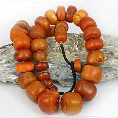Large Old Real Amber & Bakelite Collection. I would love old beads like these in various colours to go with different clothes.