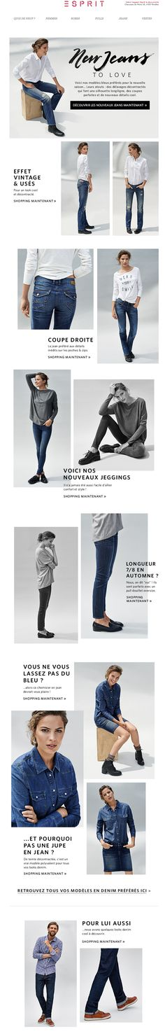 Esprit Newsletter | New jeans to love