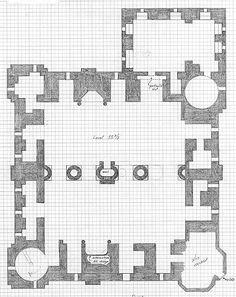 Minecraft Castle Floor Plans Blueprint                                                                                                                                                                                 More                                                                                                                                                                                 More