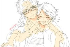 My two favourite characters!!!^^ Seven and Yoosung