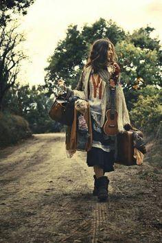 Gypsy traveler...