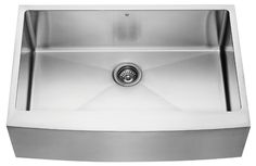 Alma 33 inch Farmhouse Apron 16 Gauge Stainless Steel Kitchen Sink with Price : $ 343.92