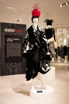 Inside The Isabella Blow and Hudson's Bay's Fashion Blows exhibit with the inimitable Ms. Pretty Clothes, Pretty Outfits, Louise Wilson, Isabella Blow, Daphne Guinness, The Coveteur, Visual Merchandising Displays, Sarah Burton, Central Saint Martins