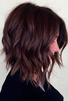 cheveux mi-longs dégradés : 20 photos de modèles de cheveux mi-longs dégradés tendance 2017   Coiffure simple et facile