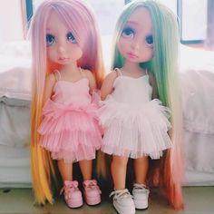 Doll Tutu Dress / Disney Animator Doll Rapunzel