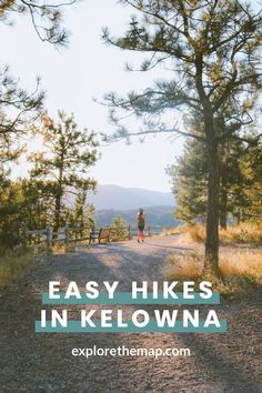 Looking for easy hikes in Kelowna? Check out these awesome hikes that are perfect for all skill levels. You'll love your next adventure! Canadian Travel, British Columbia, Columbia Travel, Beautiful Waterfalls, Best Hikes, Lake View, Hiking Trails, The Great Outdoors, Adventure Travel