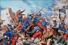 les_fetes_camerone. The Battle of Camerone is the greatest symbol of the French Foreign Legion. It is a sample illustration of bravery and determination of fighting to the death.