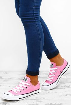 Chuck Taylor Converse All Star Pink Trainers | Pink Boutique