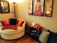 Create a Meditation Space in Your Home #meditationroomdecor