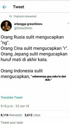 Tambahan : gue cemburu, gue kangen Quotes Lucu, Quotes Galau, Jokes Quotes, Book Quotes, Memes, Me Quotes, Motivational Quotes, Funny Quotes, Funny Tweets Twitter