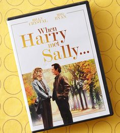 """""""I came here tonight because when you realize you want to spend the rest of your life with somebody, you want the rest of your life to start as soon as possible."""" When Harry Met Sally (1989)"""