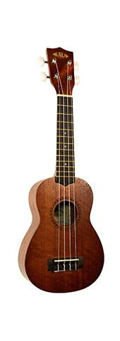 """Description Our Top Seller! The Kala Satin Mahogany Series Ukulele offer a full-bodied tone with plenty of """"Sweet Highs"""" and """"Mellow Lows."""" The 15S is an quality, affordable ukulele. Details - Soprano"""