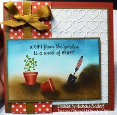 Gift from the Garden Stampin' Up! Card created by Michelle Zindorf