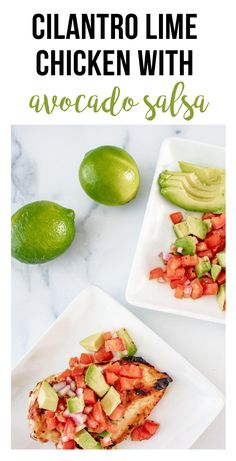 It's time to start firing up those grills!! Especially with Fathers Day just around the corner! Start the grilling season off with this fresh cilatro lime chicken freezer meal with avocado salsa! #fresh #easy #freezermeal #makeahead #grilling #grilledchickenrecipes | happymoneysaver.com Vegetarian Freezer Meals, Chicken Freezer Meals, Freezer Friendly Meals, Healthy Freezer Meals, Make Ahead Meals, Easy Healthy Recipes, Real Food Recipes, Freezer Recipes, Easy Weekday Meals