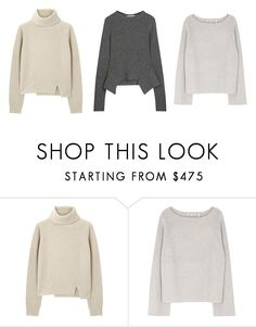 """knittwear 1"" by onlyangelica ❤ liked on Polyvore featuring Proenza Schouler, Helmut Lang and STELLA McCARTNEY"