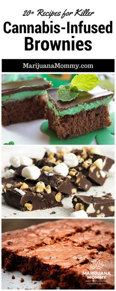 Killer Pot Brownie Recipes To Lift Your Spirits Medical marijuana patients often make edibles at home. If you need a new marijuana recipe, try one of these cannabis brownie recipes. Marijuana Info Cannabis Info How to To Make Marijuana Edibles Weed Recipes, Marijuana Recipes, Cannabis Edibles, Cannabis Oil, Thc Oil, Cannabis Growing, Brownie Recipes, Dessert Recipes, Cake Wedding