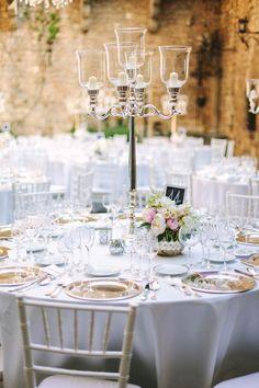 Italian castle wedding reception - photo by Studio A+Q http://ruffledblog.com/destination-wedding-in-florence-at-vincigliata-castle
