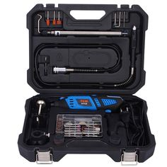 Multipurpose Electric Grinder Power Tool Kit with Full Accessories Set