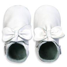 Bobux® White Bow Shoes-buybuy BABY