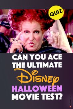 How well do you remember these classic Disney Halloween themed movies including Halloweentown, Twitches, and Hocus Pocus? #disney #disneyquiz #disneyhalloween #disneyquizzes