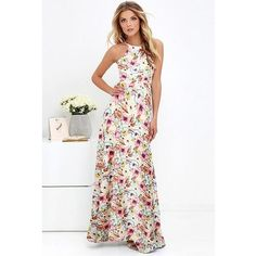 4cbf8095b035 2019 Summer Floral Print Long Dress Plus Size 5XL Women Maxi Dress Hal –  geekbuyig Boho