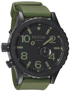 Nixon - Green & Black