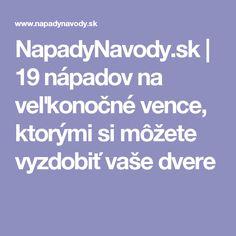NapadyNavody.sk | 19 nápadov na veľkonočné vence, ktorými si môžete vyzdobiť vaše dvere