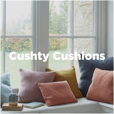 What's the scatter? We reckon our cushions look peachy when layered up in different sizes, colours and textures! Scatter Cushions, Throw Pillows, Handmade Cushions, Soft Furnishings, Colours, Bedroom, Fabric, Home, Style