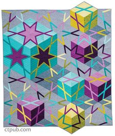 Canton Village Quilt Works | Amazingly Simple Triangle Stars Giveaway and Blog Hop!
