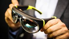 Mini Augmented Vision concept puts navigation, safety in your glasses | Mini showed off a conceptual augmented reality system based on a pair of high-tech glasses that give you information about objects in the real world while offering navigation and safety views. [Augmented Reality: http://futuristicnews.com/tag/augmented-reality/]