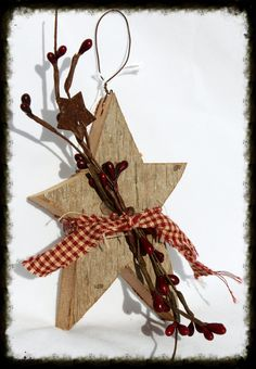 Small Barnwood Star Small Barnwood Star Perfect For Adding A Primitive Touch Small Barnwood Star Especially For You Home Decor Wooden Christmas Crafts, Silver Christmas Decorations, Primitive Christmas, Country Christmas, Christmas Projects, Holiday Crafts, Christmas Diy, Christmas Ornaments, Holiday Decor