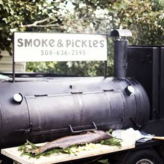 Cooking with wood.  Smoke & Pickles