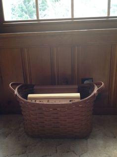 Library Longaberger Basket