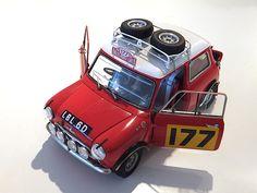 Morris Mini Cooper 1275 'S' Winner of 1967 Monte Carlo by TAMIYA 1/24
