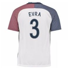 2016-17 France Away Shirt (Evra 3)