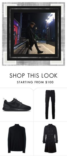 """The City 시내"" by jeon-yuho ❤ liked on Polyvore featuring NIKE, Diesel Black Gold, Stephan Schneider and Valentino"