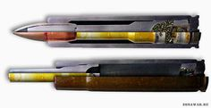 The device is 7.62 mm cartridge PZAM