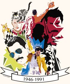25 of the most beautiful illustrated tributes to Freddie Mercury