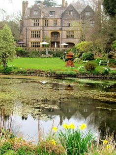 In my dreams, this is where I could live happily ever after. Glencot House, Wells, England