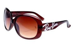 Ray Ban Jackie Ohh RB7019 Sunglasses Dark Red Frame Tawny Lens AIV