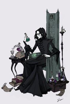 Severus by IrenHorrors on deviantART