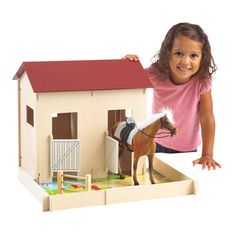 Chestnut Ridge Horse Stable and Paddock - Toys R Us - Britain's greatest toy store