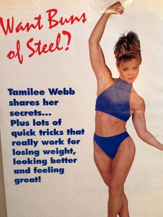#BunsOfSteel #TamileeWebb #workoutVideos #DVD #getfit Buns Of Steel, Experiential, Feeling Great, Workout Videos, Keynote, Health And Wellness, Conference, Lose Weight, Pure Products