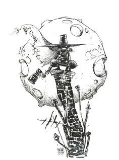 skottie young art | ... Cool DARKWING DUCK Geek Art from Scottie Young - News - GeekTyrant