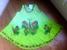 tolles Hippiekleid Strandkleid green butterfly von SimplyOdd2014