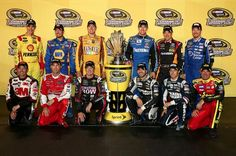 Your 2013 chase drivers.